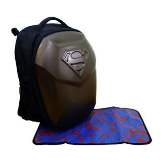 Simple Dimple (XL) Superman Diaper Shield Bag