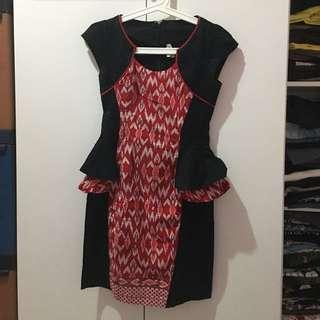 Dress Batik PINK SUGAR