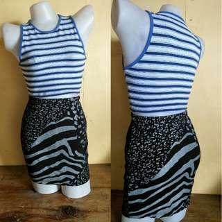 highwaist cotton skirt
