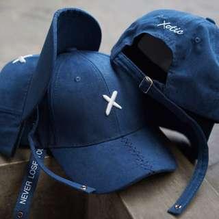 Topi Baseball X blue