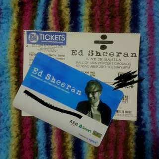 Ed Sheeran Divide Tour PH (Gen Ad)