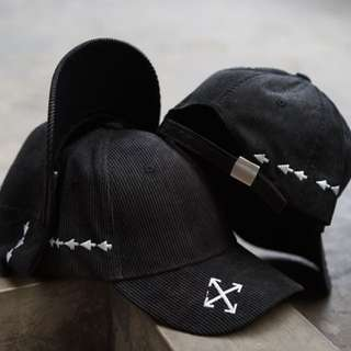 Topi Baseball Black Arrow