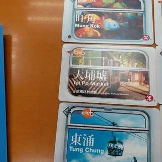 地鐵火車纪念票