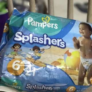 Swimming Diapers - Pampers Splashers XL for 15kg and above