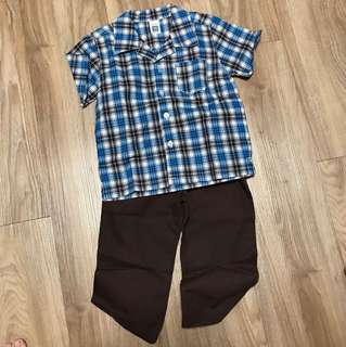 Boy's Shirt & Pant set
