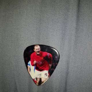 Man United Wayne Rooney Guitar Pick
