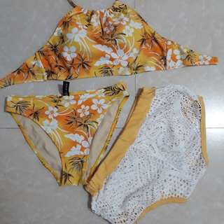 Two piece w/ lace short