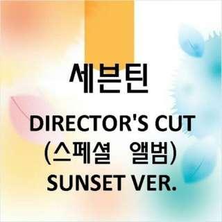 Seventeen Special Album - DIRECTOR'S CUT(SUNSET/PLOT Version) +limited poster
