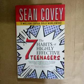7 habits of highly effective teenagers by Sean Covey