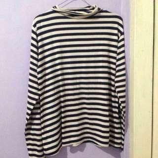 Stripes Turtleneck Shirt