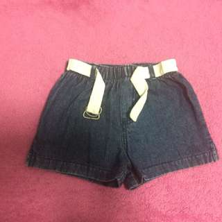 Miniwear denim shorts