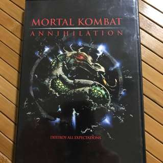 DVD Mortal Combat