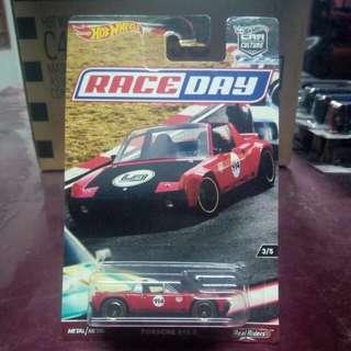 Hotwheels Car Culture Race Day Porsche 914-6