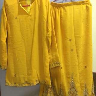 Mini kurung(kain saree)