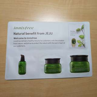(PRICE REDUCED)Innisfree Green Tea Special Kit