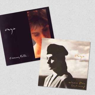 "Vg+ enya record vinyl singles 7"" 2 for $20"