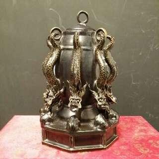 Ceramic dragons censer