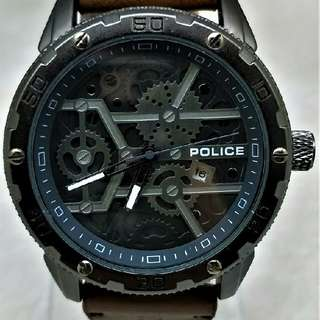 Preorder Only Police Single Watch - Complete Set