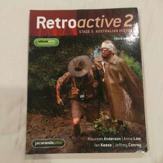 Retroactive 2 - History Textbook