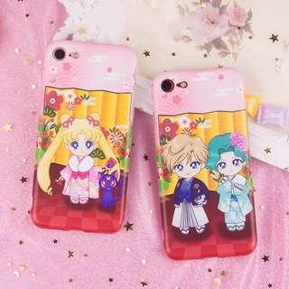 (預訂)新年和服美少女戰士iphonex手機殻