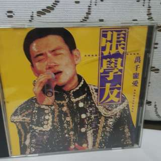 Cd chinese张学友 Jacky Cheung