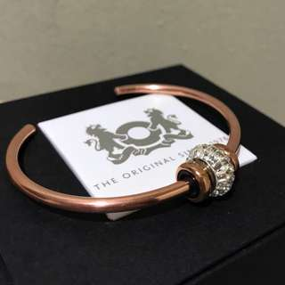 Trollbeads Copper Bangle with Stoppers