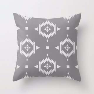 Aztec Pattern Throw Pillow Cushion Cover