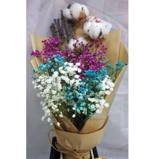 Valentine day flower bouquet