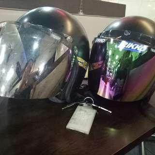 helmet Ms88 Cermin cantik 2 rm100 sahaje