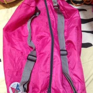 2-way Pink Duffel Bag