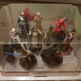 star wars figurine set