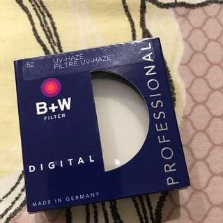 B+W 52mm UV Haze 010 Filter
