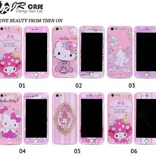 Case Hello Kitty Melody Pink Cute PLUS TEMPERED GLASS