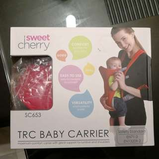 Sweet Cherry Baby Carrier red color