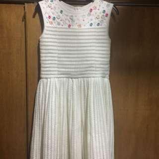 White Gingersnap Dress