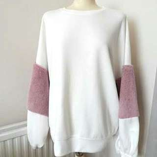 Zara Sweater Furry Pink