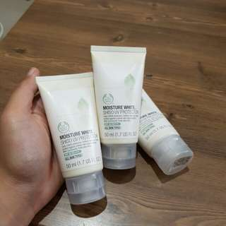 The Body Shop Moisture White Shiso UV Protector 50ml Original