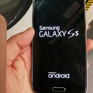 Samsung Galaxy s 5  G900F 4G Lte (waterproof and drust Fingerprint lock function) (read & see my carousell information many mobile)