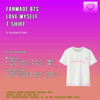 BTS Love Myself T-Shirt