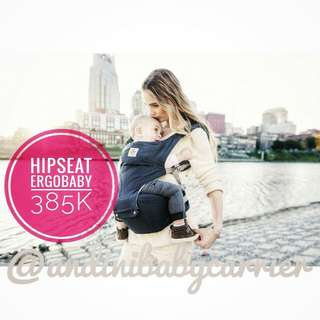 Hipseat ergobaby Dusty blue