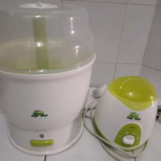 Electric Steam Steriliser & Bottle Warmer Combo