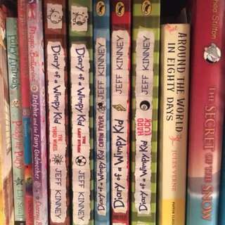 Diary Of A Wimpy Kid Book Series