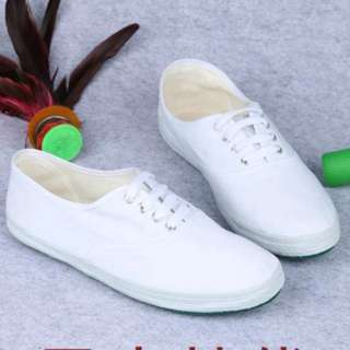 INSTOCK BN White Sneakers Shoes Canvas