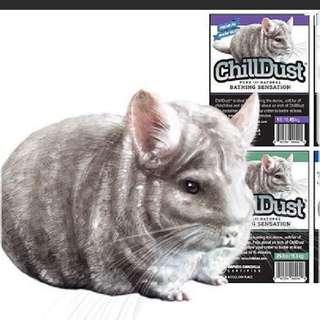 Chinchilla Dust Bath / Blue Cloud