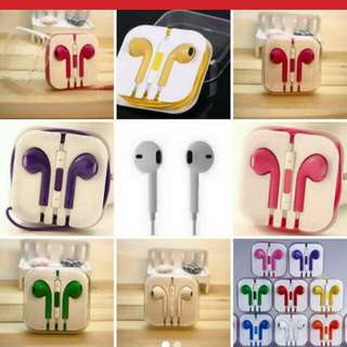 Earphones earplugs android charger cord cable