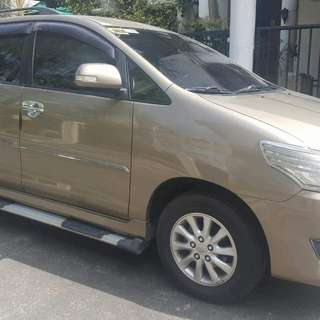 2013 Toyota Innova G 2.0 (nego upon viewing)