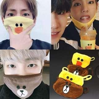 [Pre Order] BTS LINE Mask