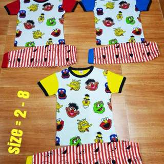 Set Pyjamas Elmo