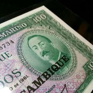 莫三比克 $100 UNC