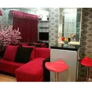Disewakan satu unit apartemen dengan harga Rp 300.000 per hari BY LLP